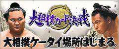 大相撲カード決戦